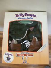 Nrfb Teddy Ruxpin Adventure Hiking Outfit 1985