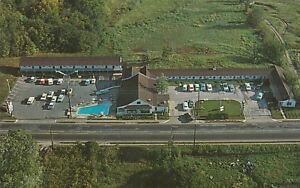 *(M)  Bowling Green, KY - Kentucky Colonel Motel and Restaurant - Aerial View