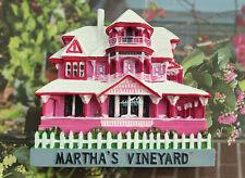 Martha's vineyard, Massachusetts United States 3D Resin Souvenir Fridge Magnet
