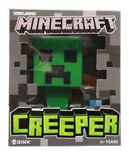 "Mojang Minecraft Creeper 6"" Vinyl Figure With Diamond Block Jinx Toy Collection"