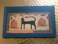 Jane Bolton Address Book ~ Lovely!