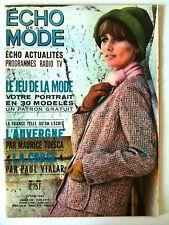 L'echo de la mode n° 35 année 1964; Mode / Cuisine / Ouvrages / Romans