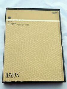 IBM IBM-JX IBMJX AUS NZ JAP Vintage Software 5601-SET Sort Reference