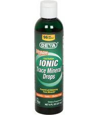 DEVA Trace Mineral Drops Ionic Vegan 8oz Liquid - EXP 10/2024