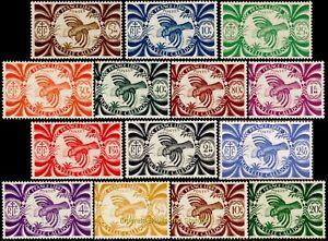 EBS New Caledonia 1942 - France Libre - Kagu - NC 230-243 MNH*