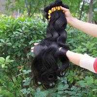 New 4 bundles Brazilian Virgin Remy Body Wave Wavy Human Hair Extension 200g all