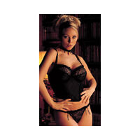 Masquerade by Panache Showtime Black Hipster String