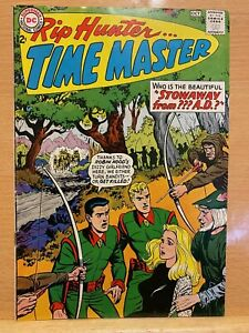Rip Hunter...Time Master (1964) SILVER AGE Great Condition! MUST SEE.