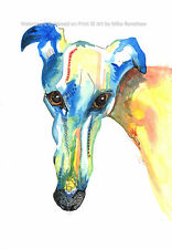 Greyhound Whippet Lurcher Italian Gift, Birthday Fathers Day Gifts - Size Option