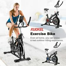 Bicicleta Estática Máquina Fitness Plegable Cardio Deporte Ciclismo Monitor LCD