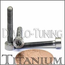 3mm x 0.50 x 20mm - TITANIUM SOCKET HEAD CAP Screw - DIN 912 Grade 5 Ti M3 Hex