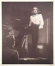Marlene Dietrich, Ltd. Ed. Photolithograph, Laszlo Willinger