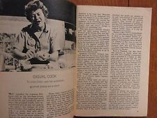 Aug-1964 TV Guide(JULIA CHILD/PHYLLIS NEWMAN/E G MARSHALL/JUDY CARNE/RUDY VALLEE