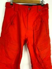 The North Face Mens Snow Pants Red Size Small