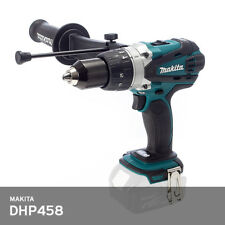 Makita DHP458Z Hammer Drill 13mm Keyless 18V Side Handle BHP458Z UPS [Bare Tool]