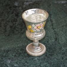 Bauernsilber Fußbecher - 19. Jahrhundert   (# 6945)