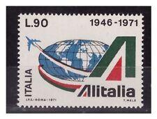 Francobolli della Repubblica italiana verde