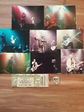 The Cult 2008 Concert Photos (8) / Ticket Stub / Billy Guitar Pick / Magazine Ad