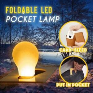 1/5PCS Foldable LED Pocket Lamp HOT  Family Holiday Decoration