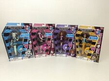 2013 Monster High COMPLETE SET Doll Monster Pen Cleo Clawdeen Draculaura Frankie