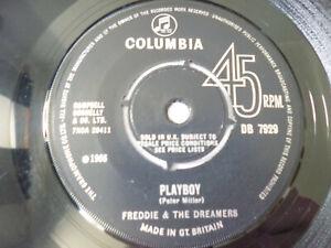 """FREDDIE & THE DREAMERS ~ PLAYBOY ~ COLUMBIA 1966 UK 1ST PRESS 7"""" VINYL SINGLE"""