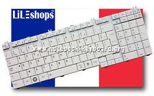 Clavier Français Orig. Blanc Toshiba Satellite Pro L500 L500D L550 L550D Série