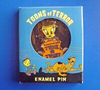 Warner Bros PIN Halloween Vintage TWEETY BIRD Enamel Monster Toons of Terror NEW