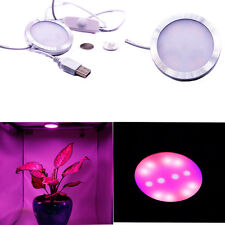 6W LED USB Plant Grow Light Full Spectrum Hydropolic Vegetable Flower Lamp DC 5V
