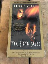 The Sixth Sense (Vhs, 2000, Bonus Edition)