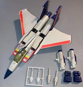 1984 Hasbro Transformers G1 STARSCREAM Seeker jet-near complete pre-rub