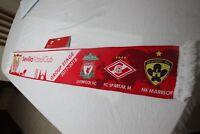 BUFANDA GRUPO CHAMPIONS LEAGUE SEVILLA F.C.,NK MARIBOR,LIVERPOOL SPARTAK MOSCU