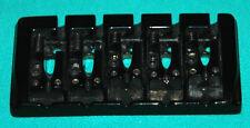 Black Hipshot Style 5-String Bridge for Kramer Ibanez Yamaha Peavey Bass Guitar