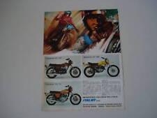 advertising Pubblicità 1974 YAMAHA RD 350/DT 360/750 TX