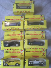 SHELL SPORTSCAR COLLECTION X 7 CARS BOXED