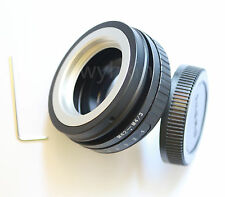 Tilt M42 Lens To Micro 4/3 M4/3 Adapter GF3 GH5 GH4 G10 EPL5 EP2 G1 EPM2 + Track
