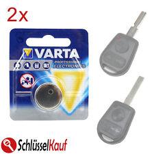 2x VARTA Knopfzellen Schlüssel Batterie für BMW E36 E38 E39 E46 Z3 Autoschlüssel