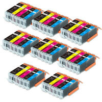 40PK Combo Printer Ink chipped for Canon 250 251 MG6600 MG6622 MX920 MX922