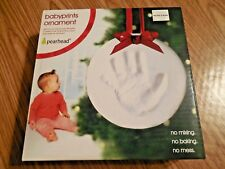 "New! Pearhead ""Babyprints"" Ornament Kit - Lasting Impression Handprint Keepsake"
