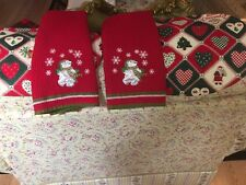Vintage Christmas Placemats And Hand Towels