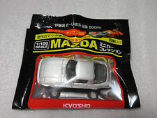 MAZDA SAVANNA RX-7 Late Ver SA22C Silver Kyosho 1:100 Scale Diecast Model Car