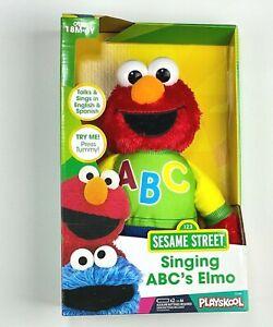 Hasbro - Playskool - Sesame Street Singing ABC Elmo Plush