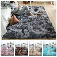 Long Plush Area Rug Soft Modern Fur Washable Anti-Slip Floor Mat Bedroom Carpets