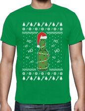 Ugly Christmas Sweater Beer Pong Holiday Party T-Shirt Funny
