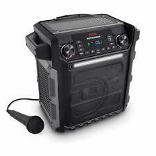 Ion Audio Pathfinder IPX4 Water-Resistant Portable 100 Watt Speaker, Gray (iPA79
