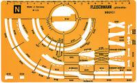 Fleischmann N 995101 Gleisplanschablone für das PROFI-Gleis - NEU + OVP