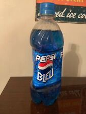 Pepsi Bleu (Blue) (Canada) Full Bottle Rare (Make an offer)