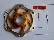 Kart Bremsscheibenaufnahme 50  mm, ALU Gold, Bremsscheibe, Rennkart, Kart, NEU