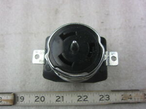 Hubbell HBL CS8169 50A 480V 3Ø Twist-Lock Receptacle Non-NEMA, New