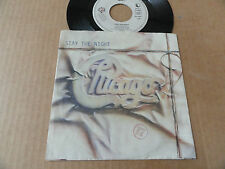 "DISQUE 45T DE CHICAGO  "" STAY THE NIGHT """