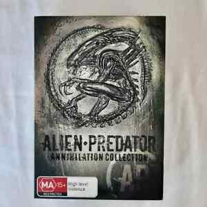 Alien Predator Annihilation Collection DVD 7 Film Collection
